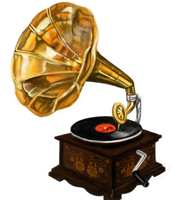 蓄音機 懐中時計 羽根ペン 花瓶 ステンドグラス風薔薇 ソファ ソファ 電話 レトロな窓枠 扇風